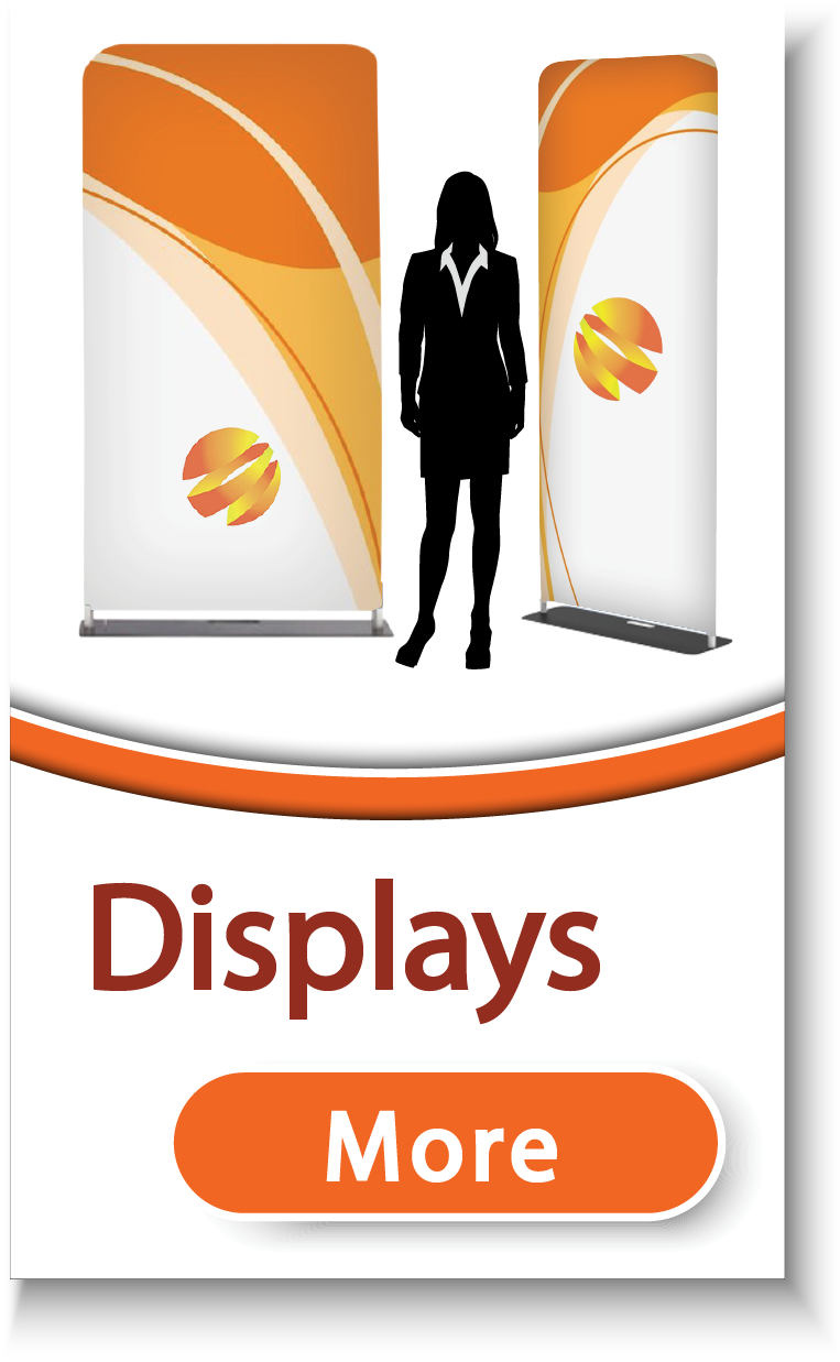 Tension Fabric Display Stands